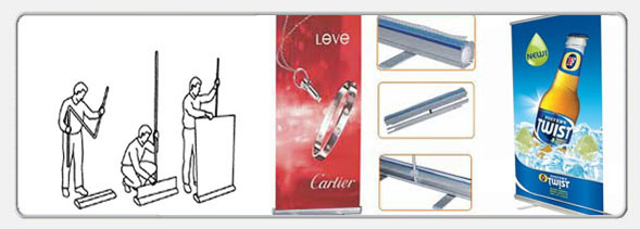 Roll-Up / X Banner ve Display